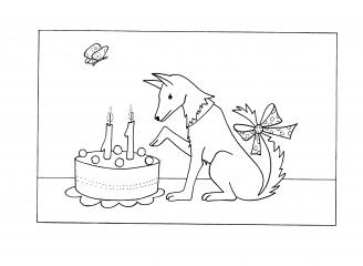 Pejsek má narozeniny