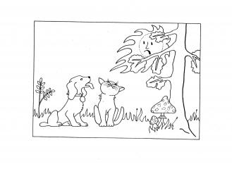 Zabloudili v lese